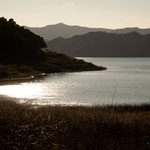 Lake Casitas am Abend