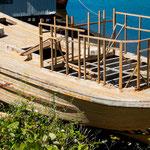 ...aber es gibt auch noch einen Schiffsbauer hier...