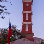 """...der deutsche Bürgermeister Bauer ließ 1920 den """"bayrischen Turm"""" bauen..."""