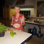 Leanne war für das Dessert zuständig - lemon Pudding