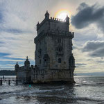 """...Der """"Turm von Belem"""" hat als einzigstes Monument das große Erdbeben 1755 überstanden"""