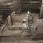 Die Bilder zeigen die Überbleibsel der Maya Häuser....