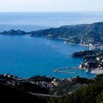 Blick auf die Bucht von Portofino