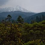 Vulkan Nevado de Toluca im Hintergrund