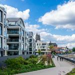 tollen Wohnungen direkt an der Elbe
