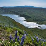 ...ein einsamer schöner See - konnten wir von oben nicht erreichen - kein Weg...