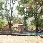 Die Quelle wird aus Badepool und / oder als Waschplatz genutzt.
