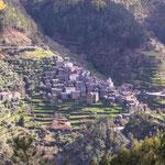 ...Piodao liegt atemberaubend schön im Gebirge...