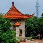 .....in Qingdao ist alt und neu allgegenwärtig.....