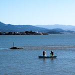 Trotz der Nähe zu der riesigen Stadt Florianapolis sieht man noch traditionelle Fischer...