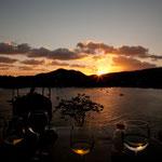Sonnenuntergang von der Villa Guadalupe......