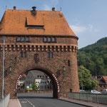...das Städtchen Miltenberg mit seinem wunderschönen Brückentor...