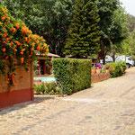 dieser Platz ist einer der schönsten im Hochland von Mexico