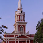 Die Stadtkirche von Vicuna...