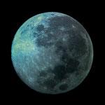 Der Mond - diese Aufnahmen hat uns das Observatorium zur Verfügung gestellt...