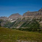 """Wanderung am """"Logan Pass"""""""
