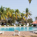 Club Atami hat zwei schöne und saubere Pools....