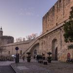 Die riesige Mauer um die Altstadt...