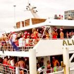 .....und so sieht eine australische Weihnachtsfeier aus - mehr wie Karneval