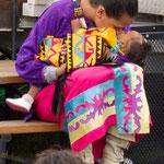 ....ihre Liebe zu den Kleinen....