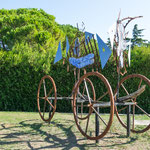 ...viel Kunst in Vaison-la-Romaine...