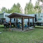 ...der tolle Camping in Vista Flores...