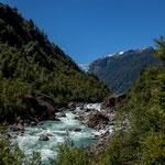 ...unsere Wanderung entlang des reisenden Flusses...