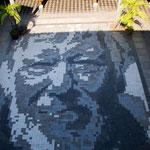 ....ein tolles Mosaik von Schönherr - nur sichtbar durch die Kamera.....