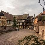 Kayserberg hat eine sehr schöne Altstadt...