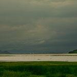....wird in der Regenzeit flächenmässig relativ groß aber hat keine Tiefe