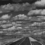 Wir waren begeistert von der Prairie und den dramatischen Wolken.....