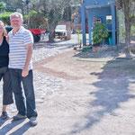 Bärbel und Joachim - haben hier seid 2 Jahren ihr Domizil errichtet