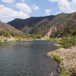 Rio Coco - wird zum größten Fluss Zentralamerikas.....