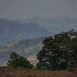 """Die """"Reserva Natural Miraflor"""" mit ihren Bergen"""