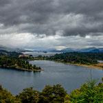 ...die Seenlandschaft um Bariloche ist wunderschön.