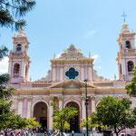 Die tolle Kathedrale von Salta...