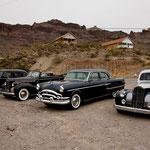 """und Oldtimer machen sich an der """"Route 66"""" immer gut."""