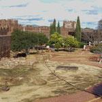 ...die Ruinen des riesigen Castelo aus der Maurenzeit...