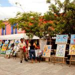 Oaxaca hat eine lebhafte Künstlerkolonie.....