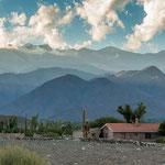Der Cerro Cachi mit seinen 6.380 Metern wacht über Cachi...
