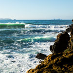 ...und überall imposante Wellen - Surferparadies...