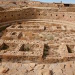 """Hier die größte Kiva des """"Pueblo Bonito"""""""