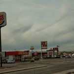 Die unsägliche fast-food Kultur hat auch die Indianer überrollt - hier in Kayenta