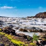 Island verfügt über unendlich viel Wasser und nutzt dies auch intensiv zur Stromerzeugung
