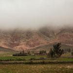 Am Aufstieg der Passstrasse hatten wir Nebel - der schnell verflogen ist...