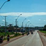 ...die Mehrheit in Paraguay ist mit einem Moped unterwegs...