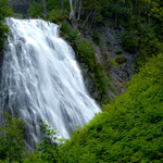 Wasserfall am Mt. Rainier.....