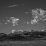 """Hier die Bighorn mit dem 4.000 m hohen """"Clouds Peak"""""""