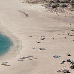 """In der Mitte rechts unser Baby an einem wunderbaren Strand in """"Los Frailes"""""""
