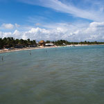 Das Dorf Punta Allen ist zu Fuss in 10 Minuten erreichbar....